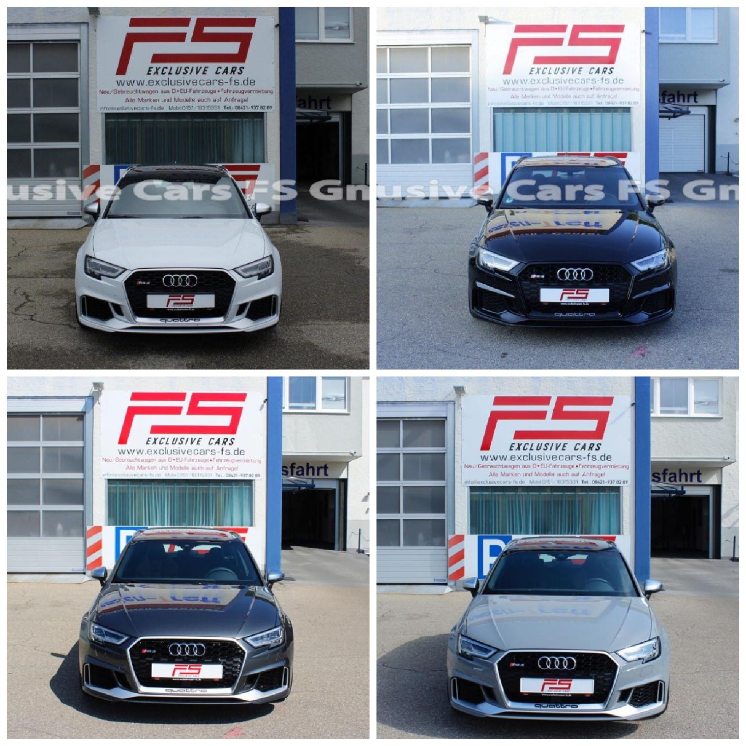 Audi RS3 280Km/HPano6xRS3schwarz.div.Farben folgen