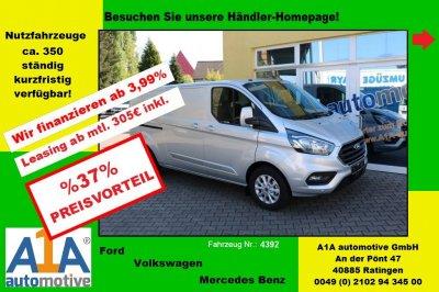 Ford Transit Custom Limited 300 L1 *Euro6d-Temp*S3*AC*RS*LS*Kli*AHK*AB*