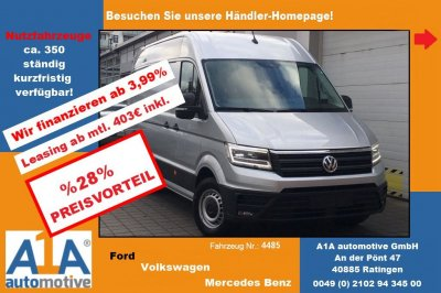 VW CRAFTER 35 Kasten 2,0 TDI  3640mm *ML*SS*RF*CC*Rrad*