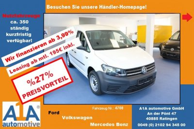 VW Caddy Kasten BMT *Rrad*BT*Epk*Kli*Rd*