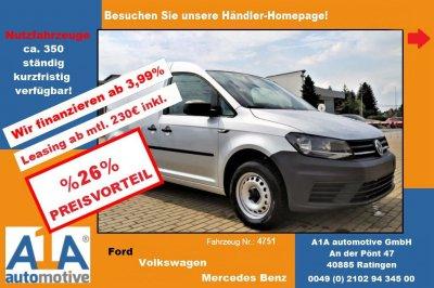 VW Caddy Kasten 2.0 TDI !GuBo*Kli*HFT!