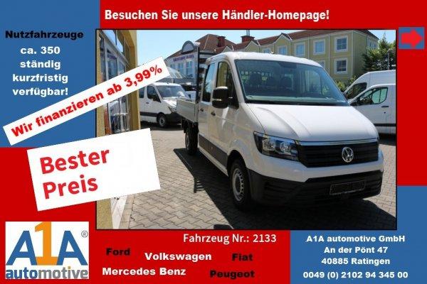 VW CRAFTER 35 DoKa 140PS Pritsche