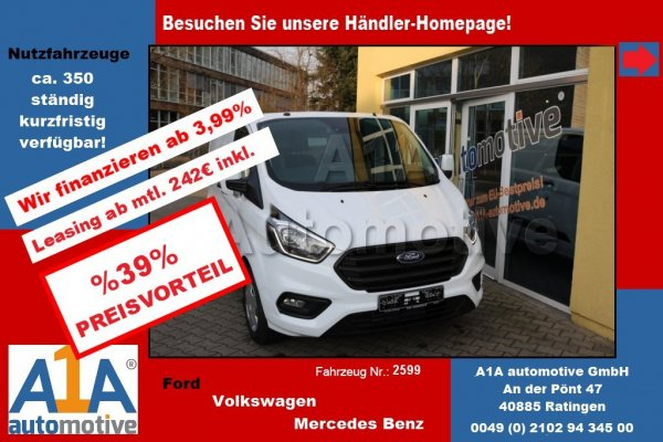 Ford Transit Custom 300 L2H1 Bassic Md2018 Preisv.39%