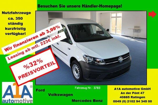 VW Caddy  2,0TDi Euro6 *AHK*Kli*GuBo*Epk*HFT*