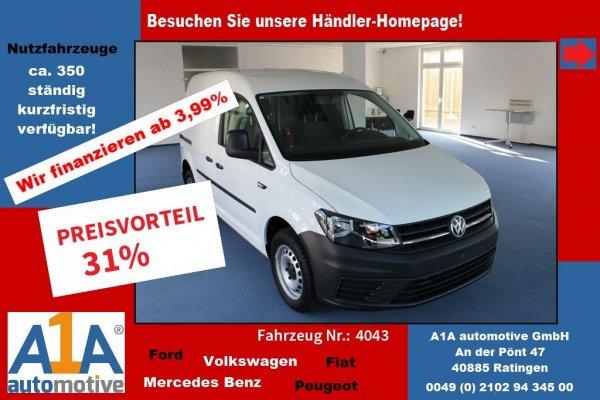 VW Caddy Maxi 2.0 TDI   Euro6  *Kli*GuBo*Rrad*Rd*