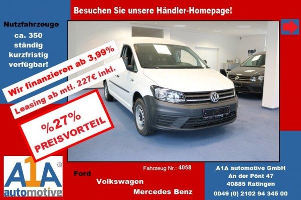 VW Caddy Maxi 1.4 TSI   Euro6  Automatik DSG*Kli*Rd*GuBo*