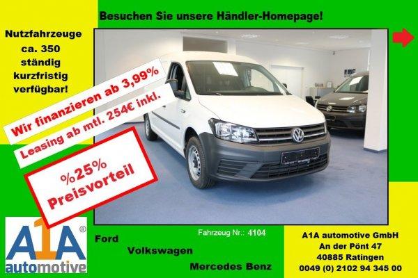 VW Caddy Maxi Kasten 2.0 TDI *elFe*Kli*PDC*Rd*HFT*EPK*