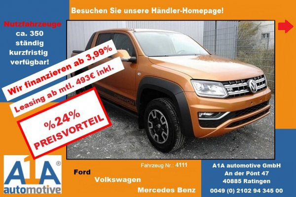 VW Amarok Canyon DoubleCab 4Motion *AHK*RFK*PDC*NS*RS*