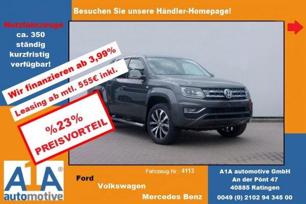 VW Amarok Aventura DoubleCab 4Motion *AHK*Kli*RFK*SH*Rrad*
