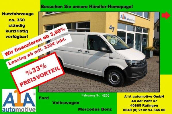 VW T6 Transporter 2,0 TDI Kasten 3000 mm *Epk*BT*Kli*CC*DoSi*PDC*