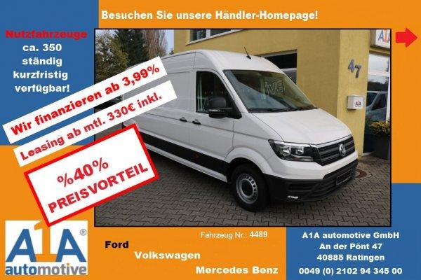 VW CRAFTER 35 Kasten 2,0 TDI 4490mm *CC*KLI*DoSi*RS*BT*