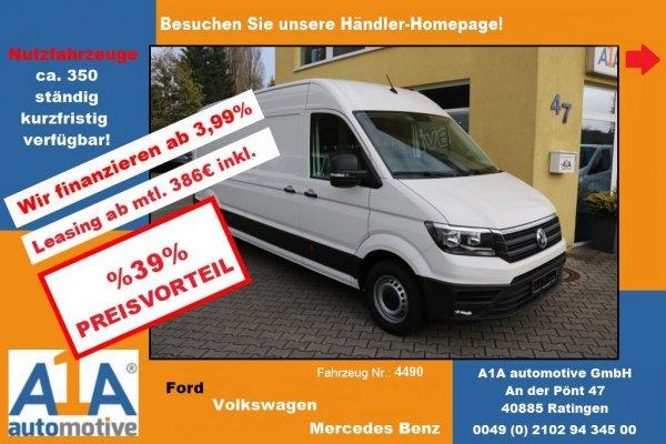 VW CRAFTER 35 Kasten 2,0 TDI 4490mm *CC*KLI*DoSi*SS*