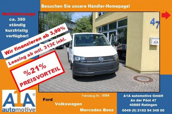 VW T6 Transporter Pritsche Doppelkabine lang *Kli*BT*DoSi*Rrad*