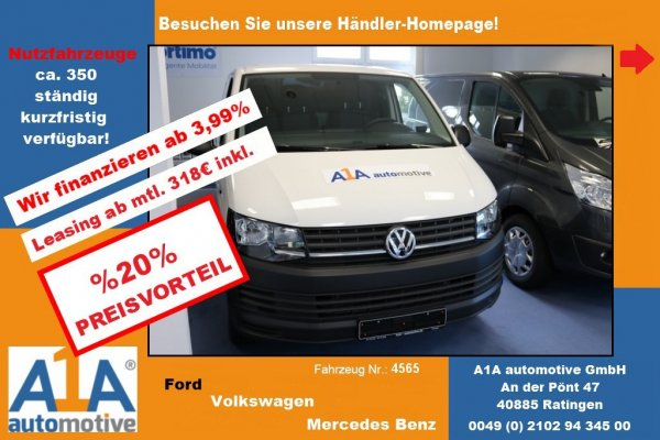 VW T6 Transporter Kasten 2.0TDI *Kli*DoSi*Epk*BT*HFT*