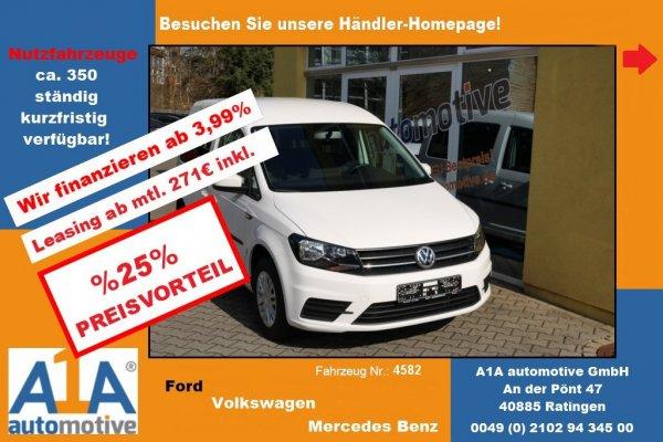 VW Caddy Trendline Kombi BMT !RS*LS*BT*AHK*NS*PDC!