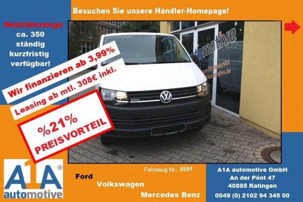 VW T6 Transporter Kasten 2.0 TSI !Kli*BT*PDC*ZV*elFe!