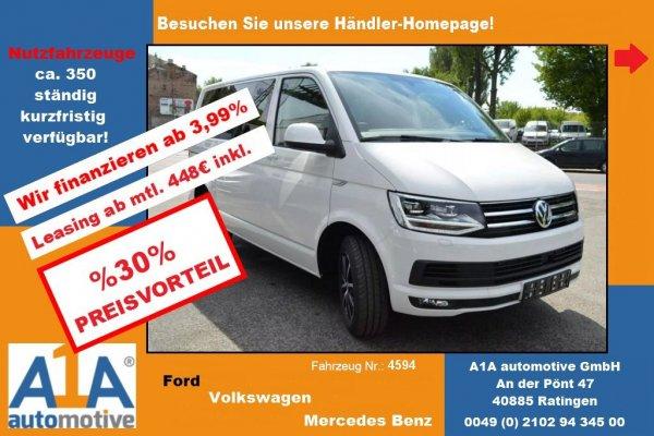 VW T6 Transporter Caravelle Trendline !CC*BT*Kli*DoSi*HFT*Rrad!