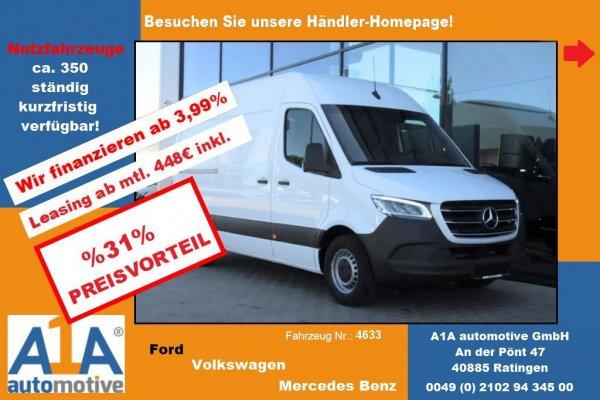 Mercedes-Benz Sprinter III 314 CDI RWD !CC*Nav*RFK*Kli*RS*Rrad!