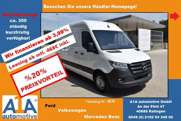 Mercedes-Benz Sprinter III 316 CDI !CC*RS*ML*Kli*elAu!