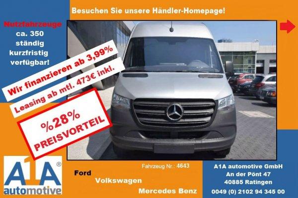 Mercedes-Benz Sprinter III 316 CDI RWD L4 !CC*Navi*BT*RFK*RS!