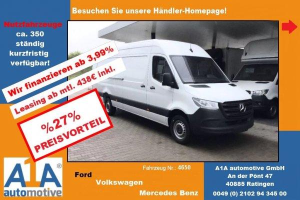 Mercedes-Benz Sprinter III 314 CDI Extra Lang !Kli*Rrad*DoSi*elAu!