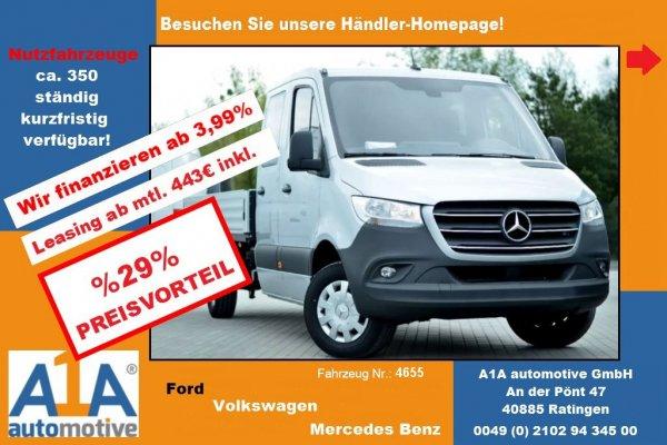 Mercedes-Benz Sprinter III Pritsche Doka 314 CDI !Kli*CC*DoSi*BT*AHK!