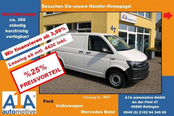 VW T6 Transporter Kasten 2.0 TDI !Kli*BT*PDC*Rrad*CC*Navi!