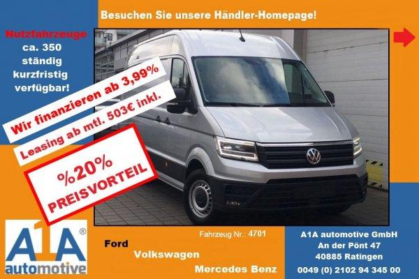 VW CRAFTER 35 Kasten 2,0 TDI 3640mm !CC*PDC*BT*KLI*AHK*RFK!