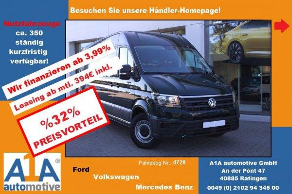 VW CRAFTER 35 Kasten 2,0 TDI  3640mm !DoSi*LED*BT*Rrad!