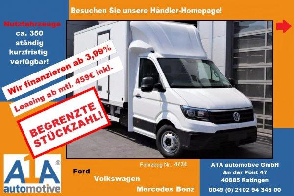 VW CRAFTER 50 2.0 TDI  Kühlfahrzeug !CC*Kli*BT*ZV*ML!