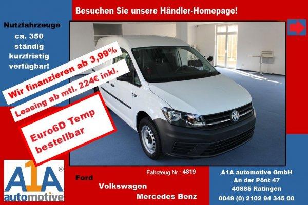 VW Caddy  2,0TDi 4MOTION Euro6D Temp