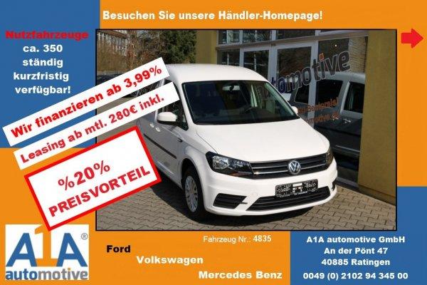 VW Caddy Trendline BMT *Rrad*HFT*PDC*BT*Kli*