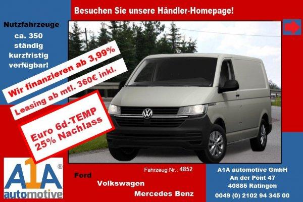 VW T6 Transporter 2.0 TDI T6.1, 4MOTION 3400 mm *Kli*Rd*GuBo*