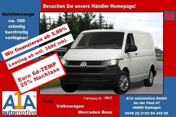 VW T6 Transporter 2.0TDI T6.1, 4MOTION 3400 mm *Kli*Rd*GuBo*PDC*