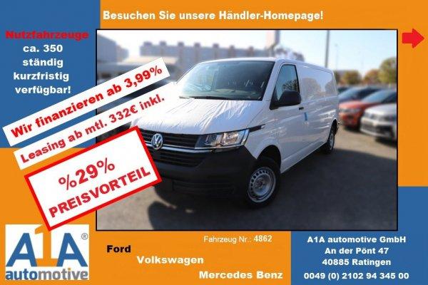 VW T6.1 Transporter 2.0 TDI Kasten 3000mm *Kli*HFT*Rrad*