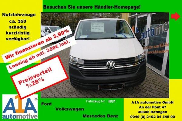 VW T6 Transporter 2.0 TDI T6.1 Kasten 3400 mm *PDC*Rrad*Kli*HFT*