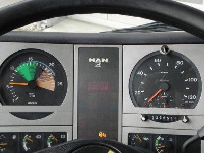 MAN F2000 FE 310 A Schörling, Schüttung