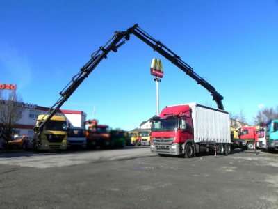 Mercedes-Benz Actros 2541 6x2  32m/to, Jib, Funk