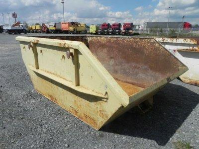 ANDERE  Absetzcontainer Stahl, Fassungsvermögen ca. 3,0 m³. Baujahr und weitere Daten n.b., da kein Typenschild vorhanden.