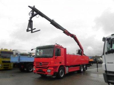 Mercedes-Benz Actros 2641 L 6x2 Palfinger, Lenk+Lift