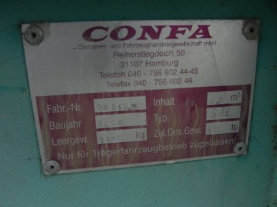 ANDERE  Confa 54 / 606 stapelbar