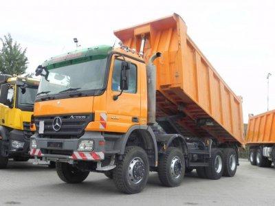Mercedes-Benz Actros 4141 8x6 Meiller 18m³
