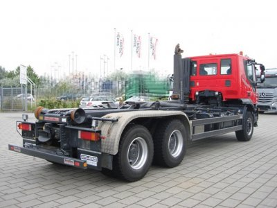 IVECO-MAGIRUS TRACKER AT260T50 6x4 Meiller