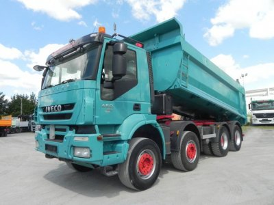 IVECO-MAGIRUS TRACKER AD340T45 Intarder
