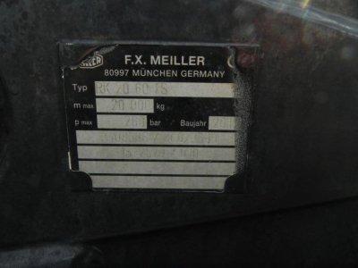 MAN TG-S 26.440 6x4H-2 BL Meiller Schub/Knick