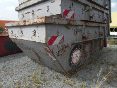 ANDERE  Absetzcontainer Stahl, Fassungsvermögen ca. 5,5 m³