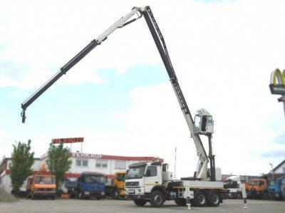 VOLVO (S) Truck FM FM 12 380  6x4 Höhe 27 mtr