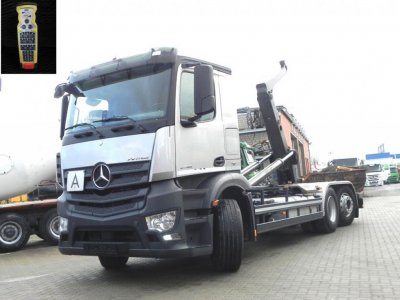 Mercedes-Benz Antos 2545 L 6x2 Meiller, Lift/Lenk
