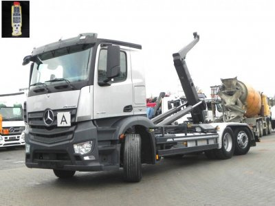 Mercedes-Benz Antos 2745 6x2 Meiller, Lift/Lenk