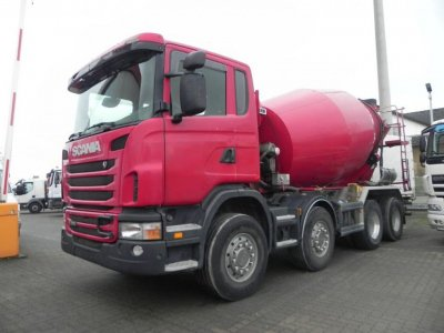 SCANIA (S) G 380 8x4 Liebherr 9 m³